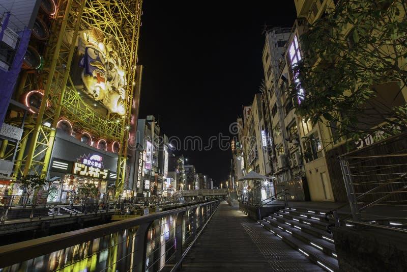 Dotonbori, Osaka, Japan royalty-vrije stock afbeeldingen