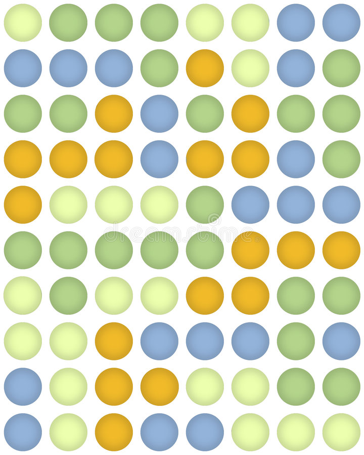 Download Dots stock illustration. Image of circle, background, yellow - 502004
