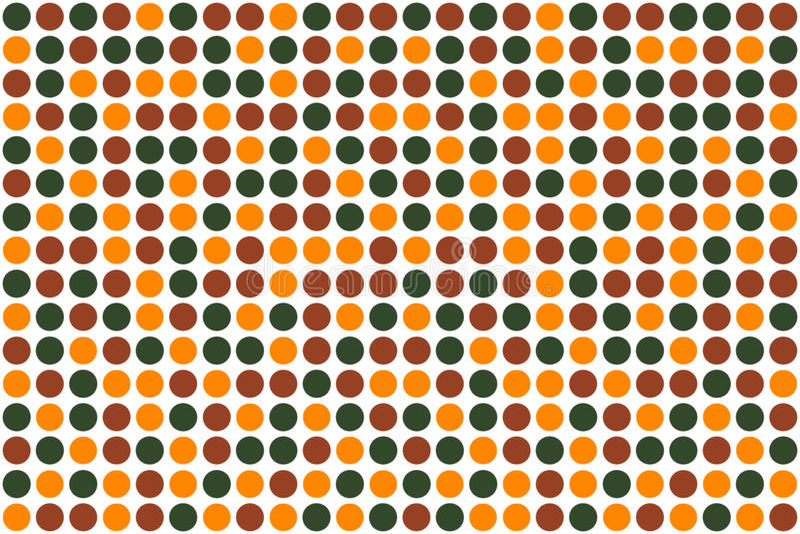 Download Dots, autumn  colors stock illustration. Image of motive - 11712980