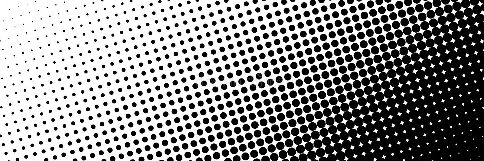 Dots Background de semitono oscuro Fondo abstracto simple ilustración del vector