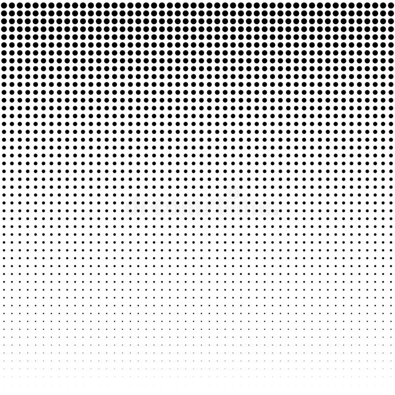 Dots Background. Vintage Modern Pattern. Grunge Abstract Backdrop. Pop-art Texture. Vector. Illustration royalty free illustration