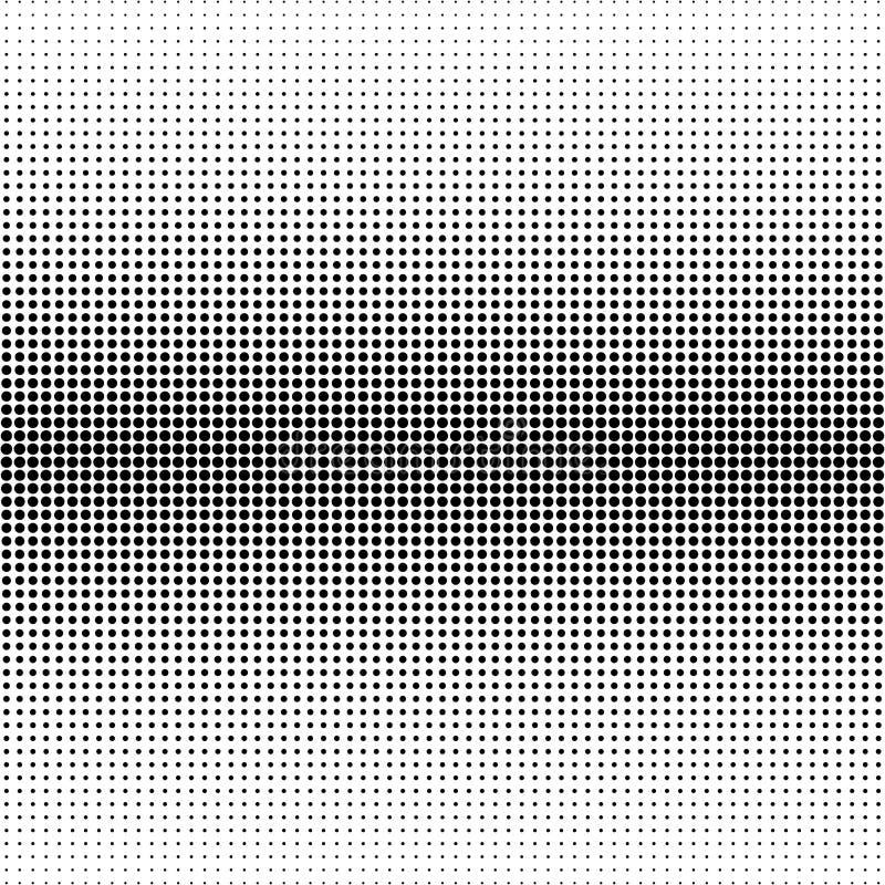 Dots Background. Vintage Modern Pattern. Grunge Abstract Backdrop. Pop-art Texture. Vector royalty free illustration