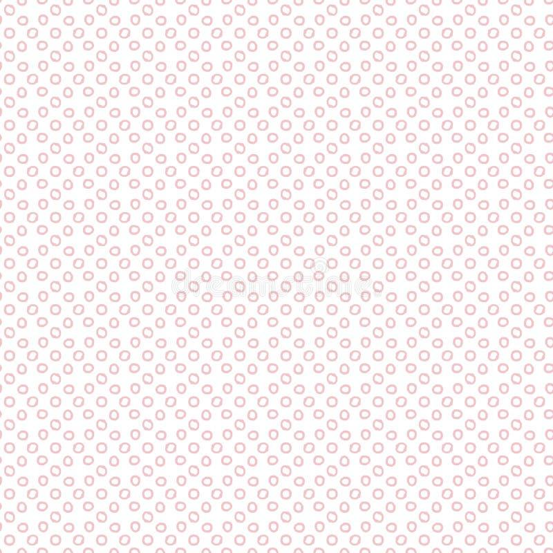 Dots Digital Paper, fond géométrique, entourent géométrique illustration de vecteur