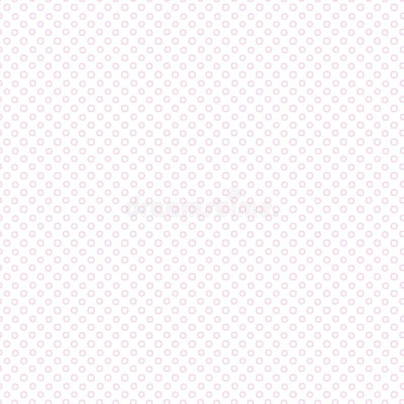 Dots Digital Paper, fond géométrique, pointille géométrique illustration libre de droits