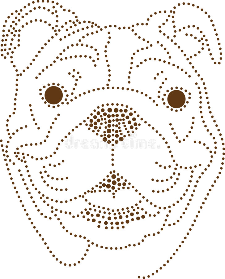 Download Dots Dog Stock Image - Image: 6585241