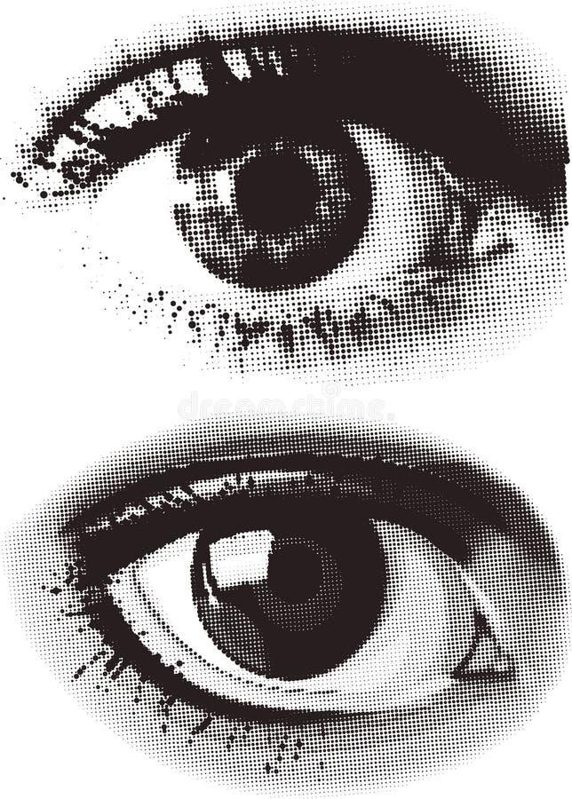 Download Dots eye stock vector. Image of iris, design, circle, symbol - 6903392