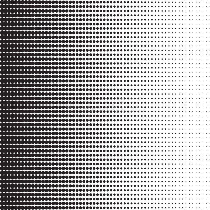 Dots Halftone Pattern illustration de vecteur