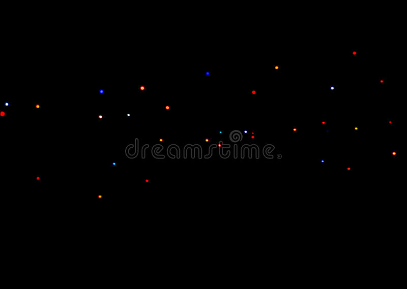 Dots of the light royalty free stock photography