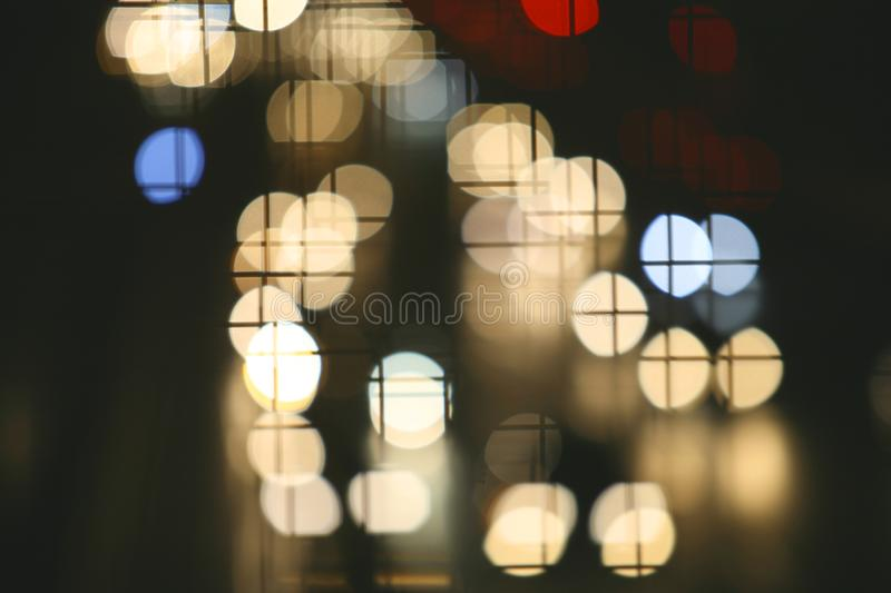 Dots lights stock photo