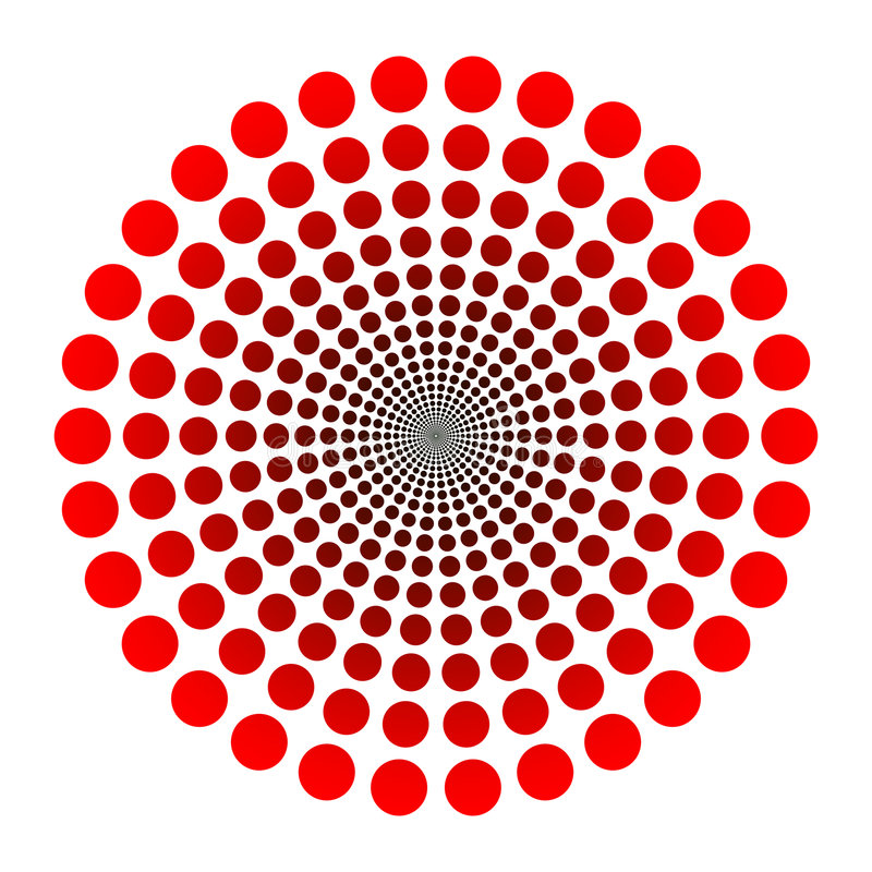dots logo vektor illustrationer