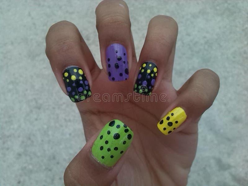 Dots nail art stock image. Image of nails, nail, dots - 45917353
