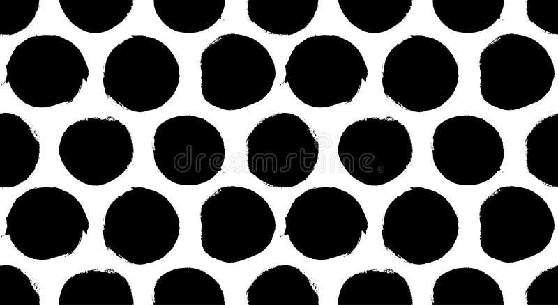 Dots Pattern dipinto illustrazione vettoriale