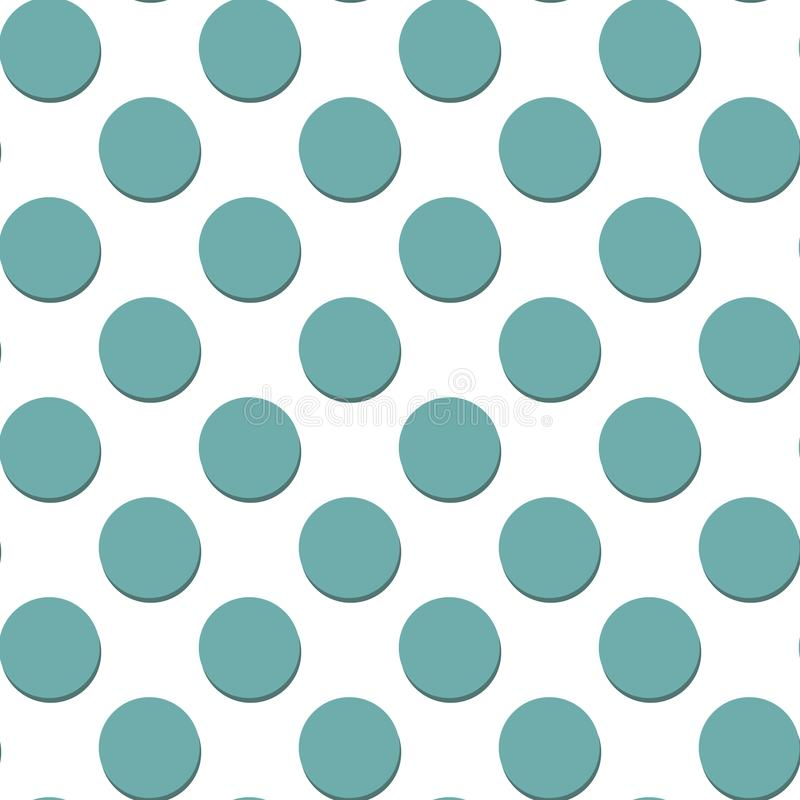 Dots Pattern Geometrisk enkel bildillustration E r vektor illustrationer