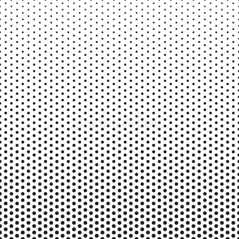 Dots Pattern Gradient Background di semitono illustrazione di stock