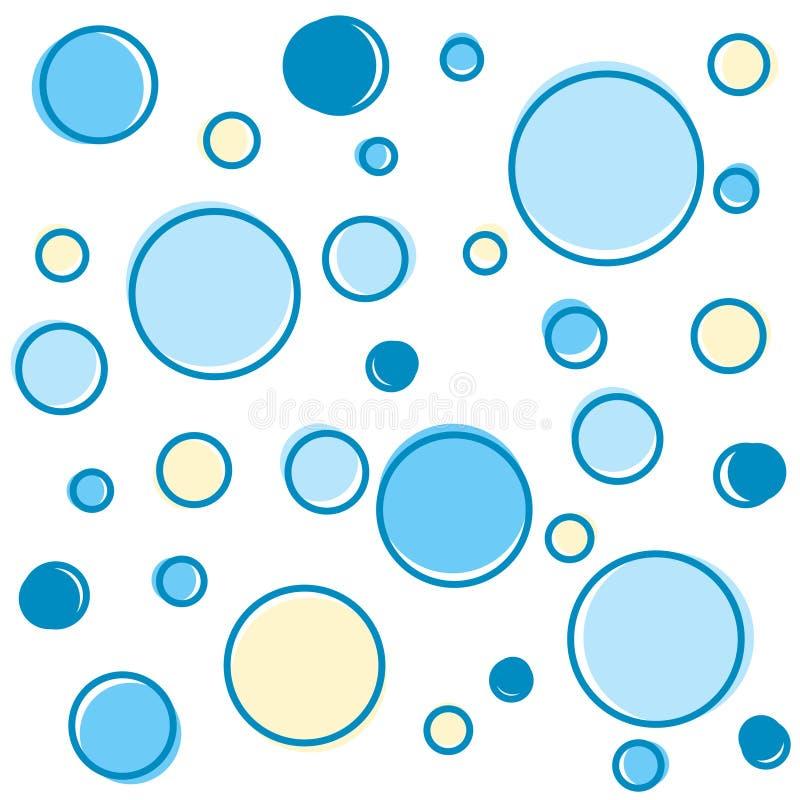 dots polka vektor illustrationer