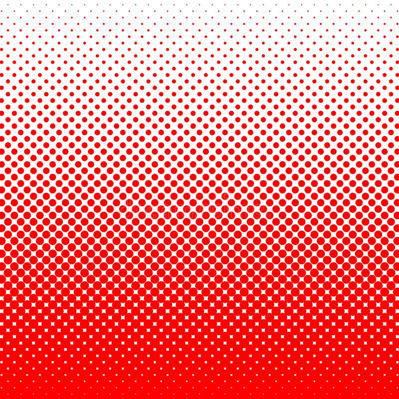 Dots on red background. pop art template. geometrical abstract background stock photo