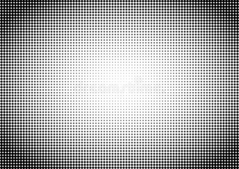Dots Seamless Pattern Background preto e branco fotografia de stock