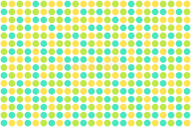 Dots, spring colors