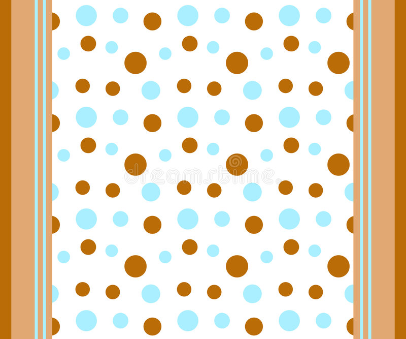 Download Dots and stripes stock illustration. Illustration of seamless - 2592038