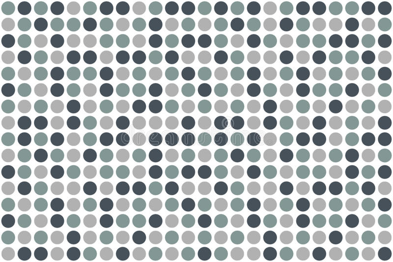 Dots, Winter Colors Stock Photography