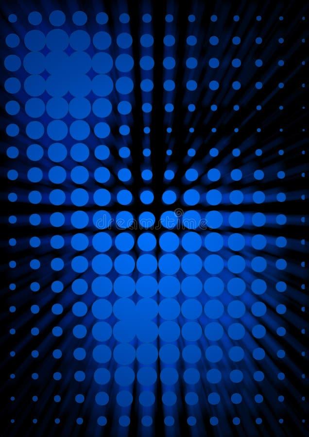 Dotted background vector illustration