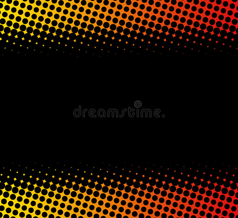Dotted background royalty free illustration