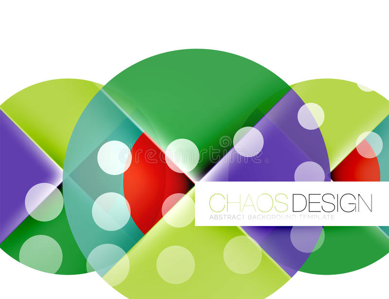 Dotted circles, abstract background. Dotted circles, abstract vector background royalty free illustration