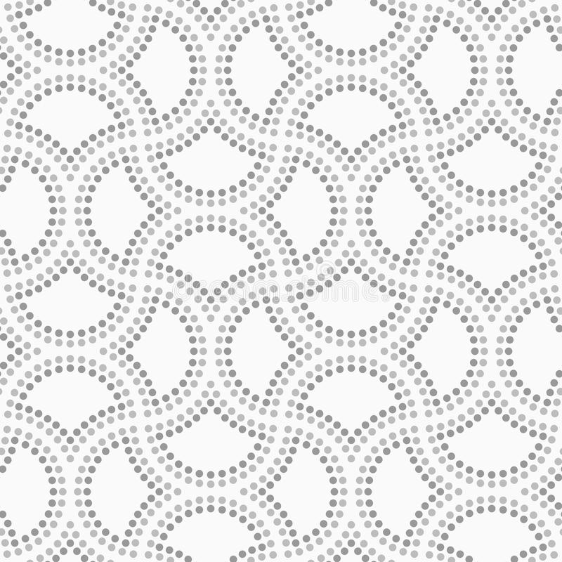 Dotted Circle Pin Will Stock Vector. Illustration Of