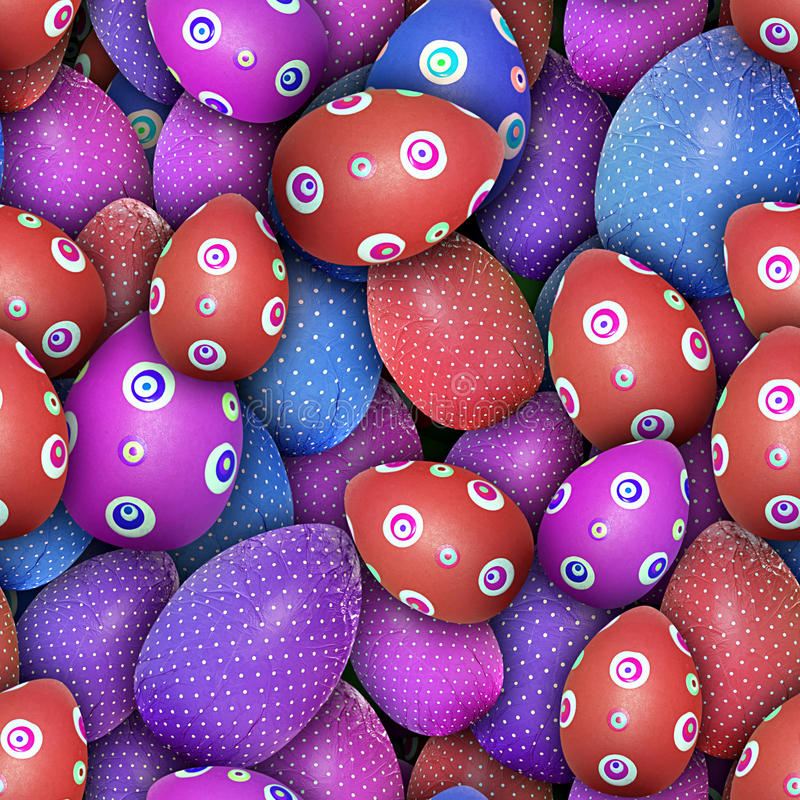 Download Dotted Easter Eggs (Seamless Texture) Stock Photo - Image: 23497060