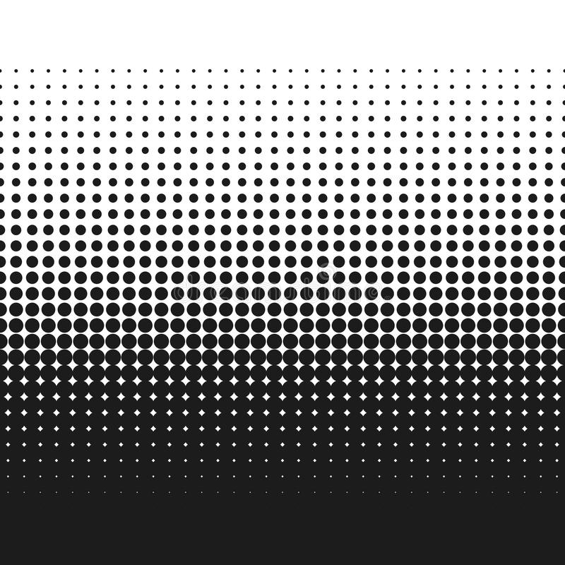 Halftone Effect On White Background  Halftone Dots Pattern