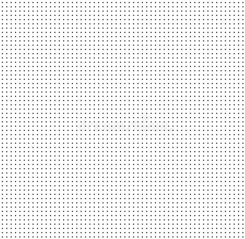 Dotted grid on white background. seamless pattern with dots. dot. Grid graph paper. white abstract background with seamless dark dots design for your web site royalty free illustration