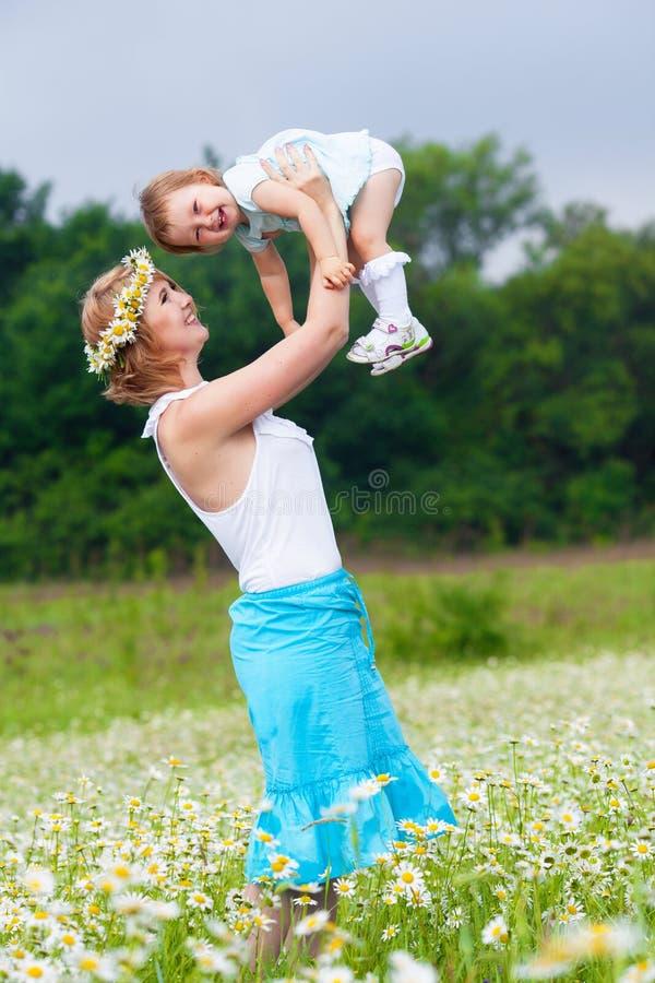 dotterängmoder royaltyfri foto