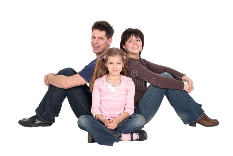 dotterfamilj arkivfoton