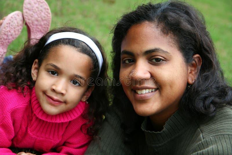 dottermoder royaltyfria foton