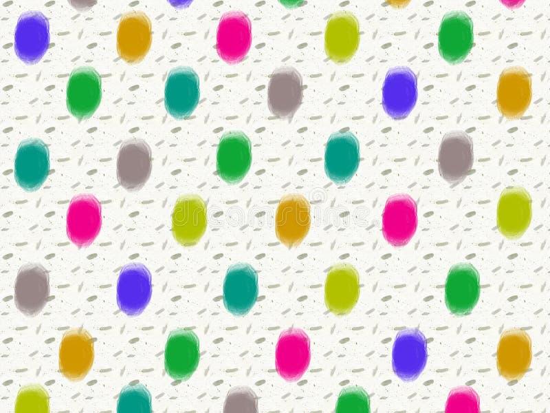 Dottie Color royalty-vrije stock afbeeldingen
