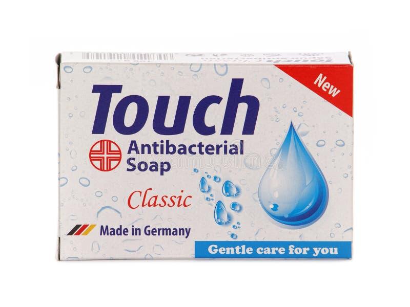 Dotyka klasyk, Antibacterial prętowy mydło zdjęcie royalty free
