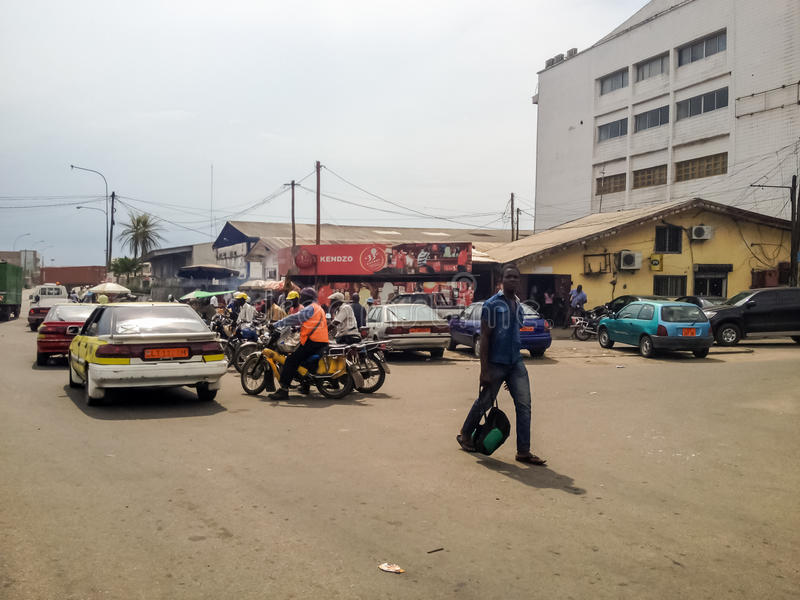 Douala, Καμερούν στοκ εικόνες