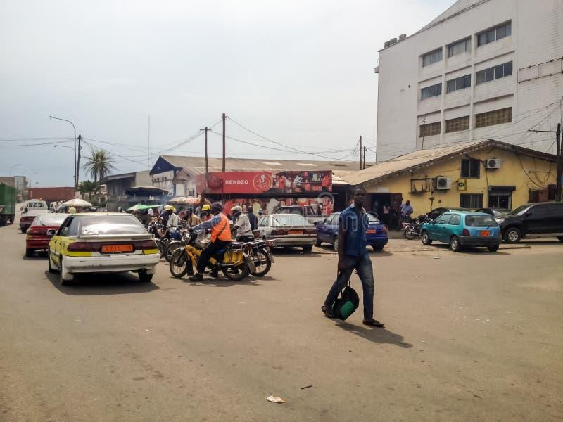Douala, Камерун стоковое фото