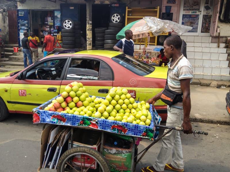 Douala, Kamerun stockfotos