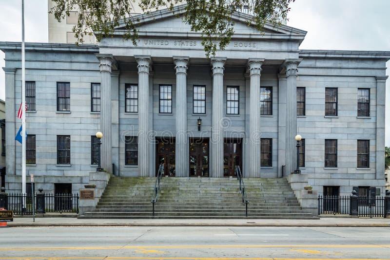 Douanekantoor van Verenigde Staten Savanne royalty-vrije stock fotografie