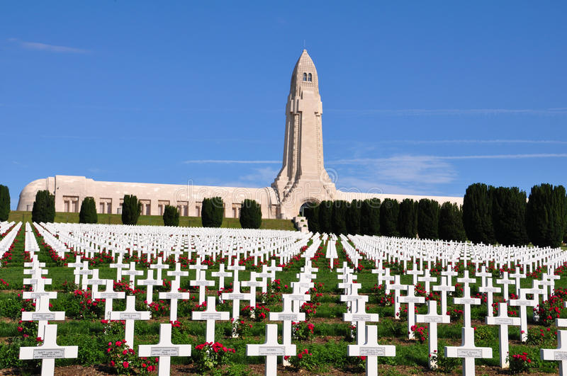 Download Douaumont Ossuaire Memorial In Verdun, France Editorial Photography - Image: 32899992