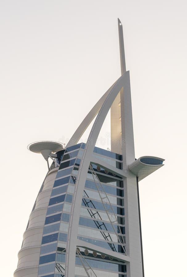 DOUBAI, DE V.A.E - OCT 8: Een algemene mening van eerst zeven st van de wereld royalty-vrije stock fotografie