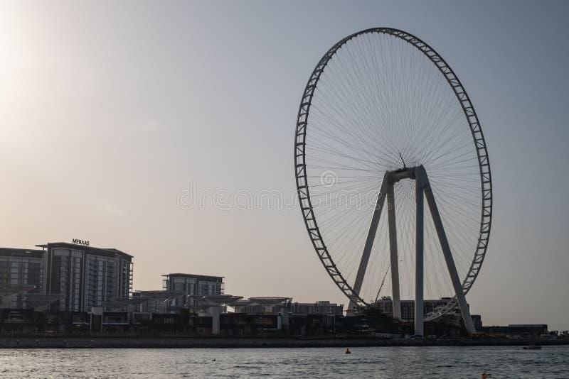 Doubai Ferris Wheel stock foto's