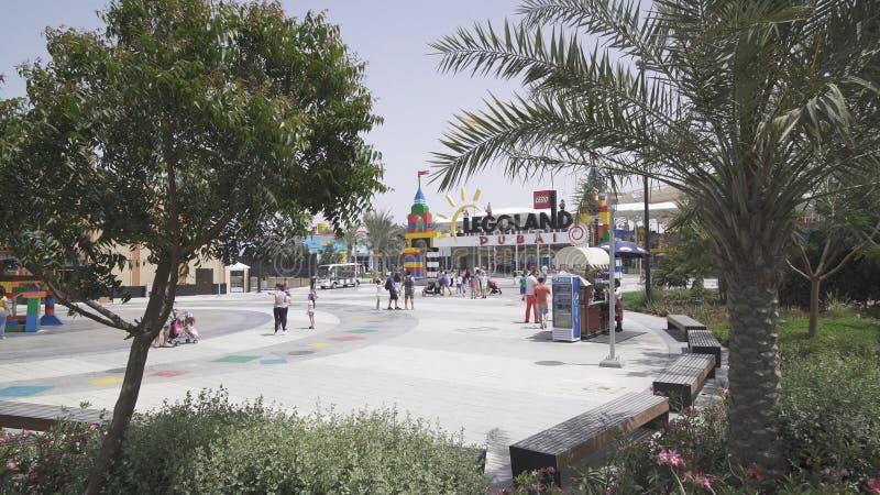 Doubai Legoland bij de Parken en de Toevlucht van Doubai royalty-vrije stock afbeelding
