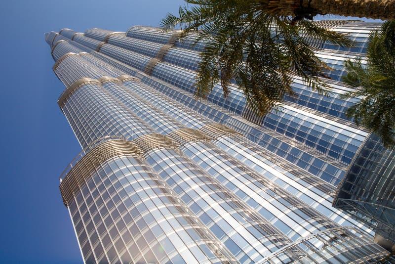 DOUBAI, VERENIGDE ARABISCHE EMIRATEN – 20 JANUARI: Toren Burj Khalifa v stock foto's