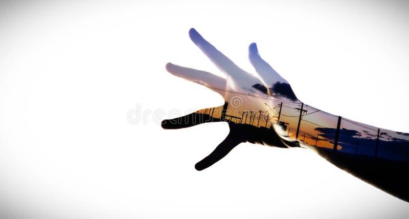 double fotografering för bildbyråer