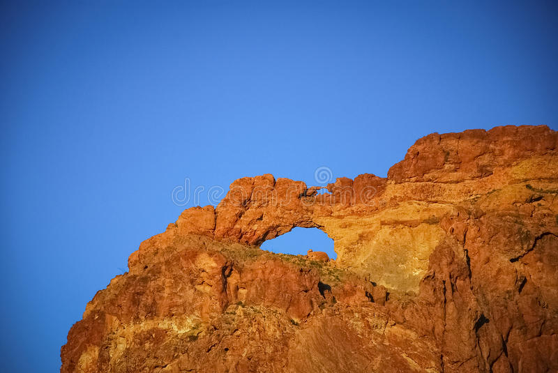 Double Arch. royalty free stock image
