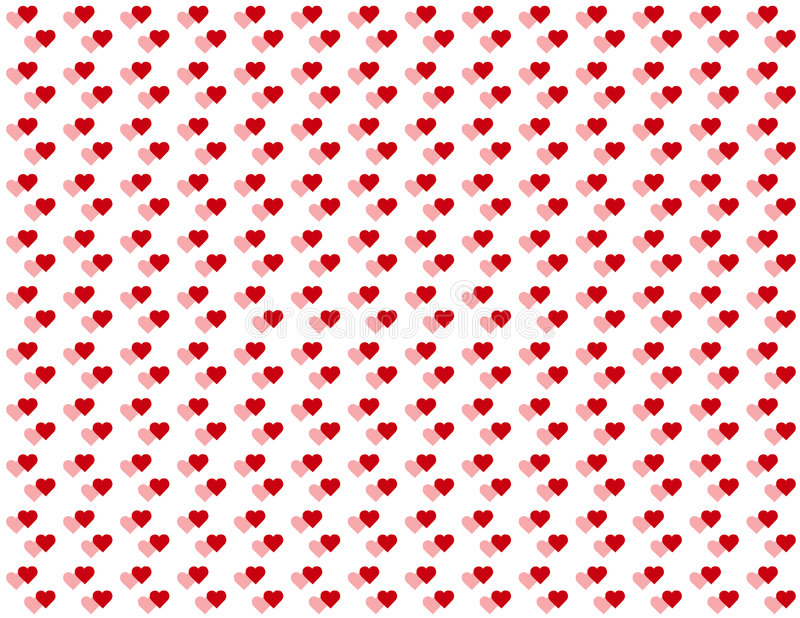 Download Double Baby Hearts Seamless Background Stock Vector - Illustration: 6232745