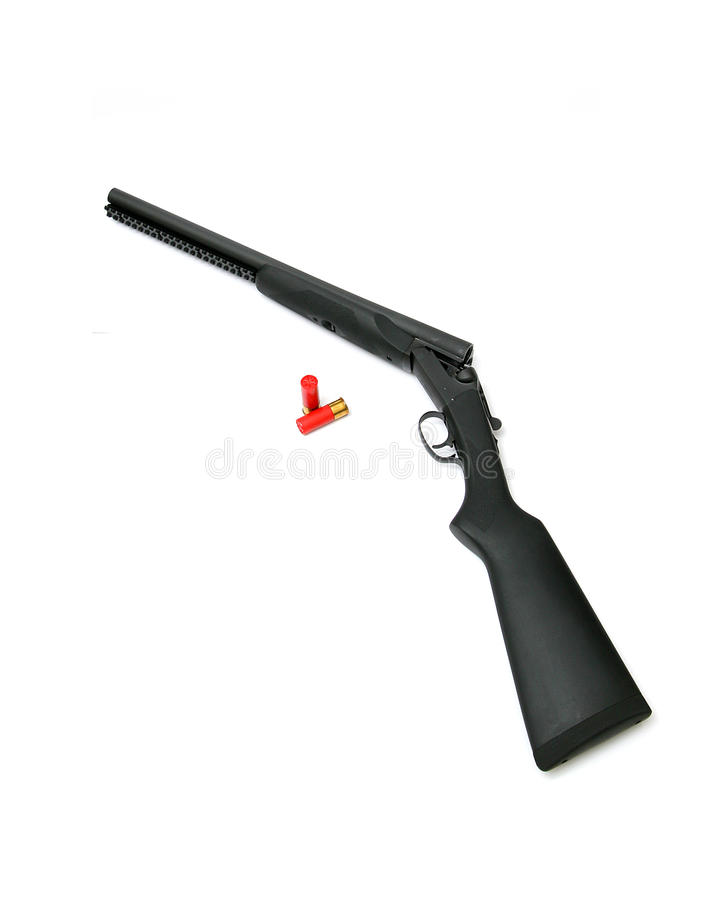 Assez Double Barrel Shotgun Royalty Free Stock Images - Image: 23814389 DJ22