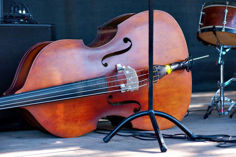 Download Double bass stock photo. Image of instrument, double - 26214320